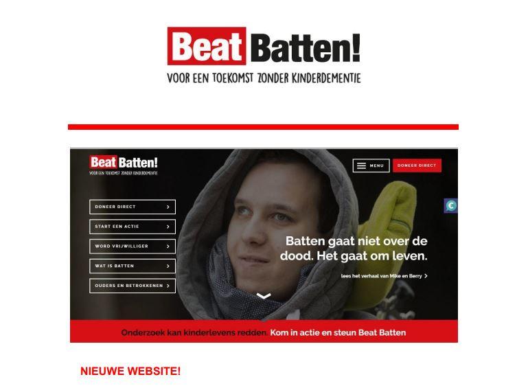 Illustratie nieuwe website Beat Batten