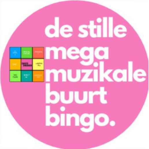 de Stille mega muzikale buurt bingo