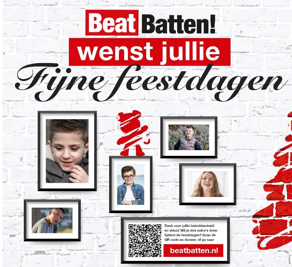 Kerstgroet Stichting Beat Batten
