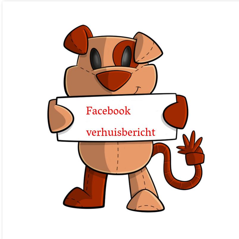 Facebook verhuisbericht